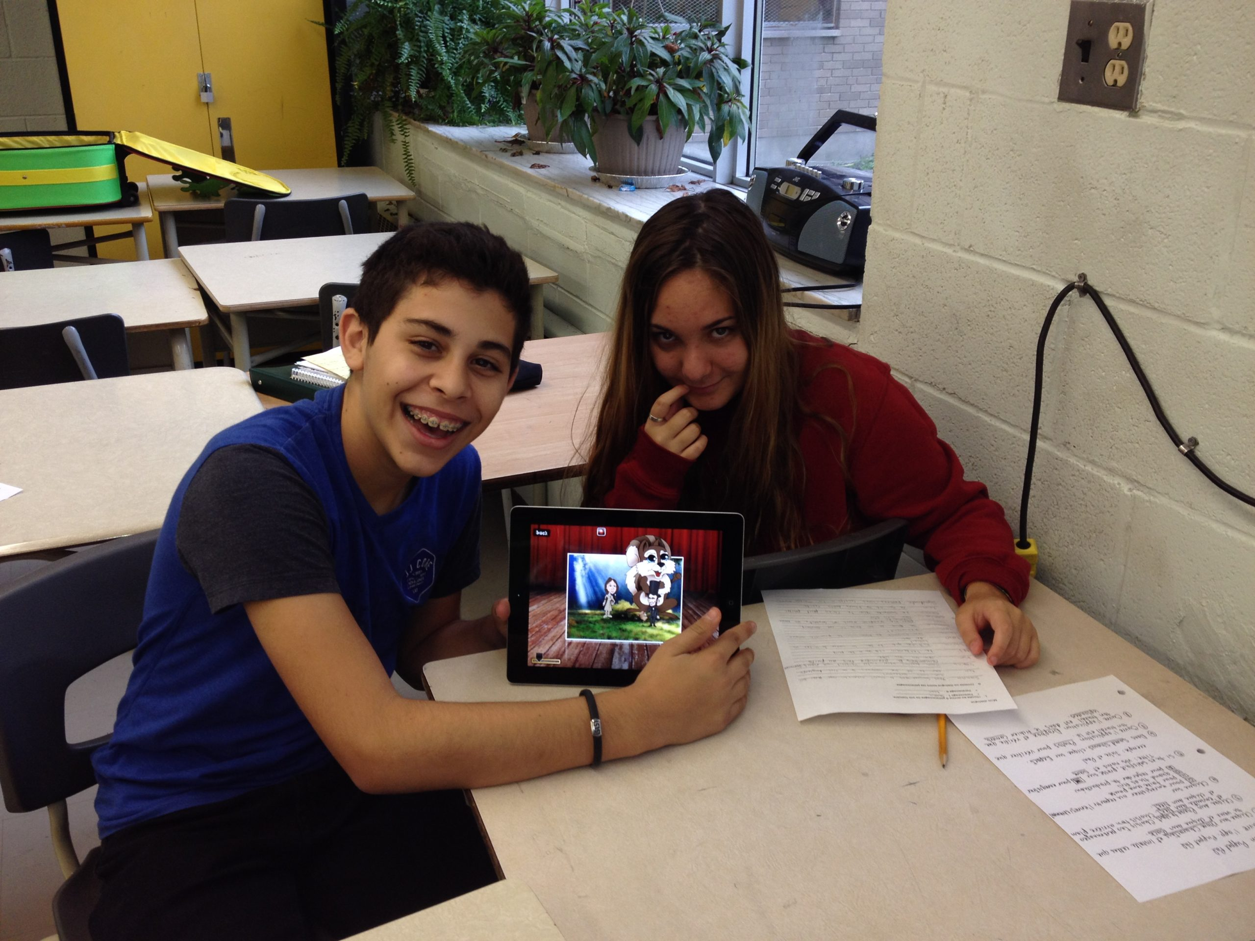 iPad en classe de FLS : mission possible !