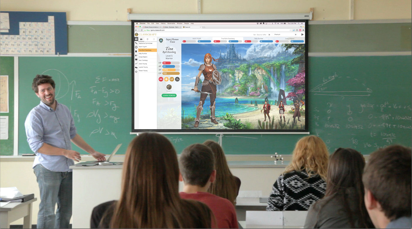 Beyond the Textbook: Gamifying Classroom Management