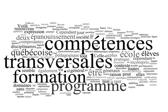 Les compétences transversales et les domaines généraux de formation : Les mort-nés du programme de formation de l'école québécoise ?