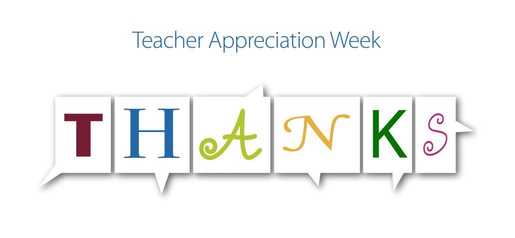 Teacher Appreciation – Merci! Thank you!