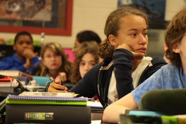 Students Listening