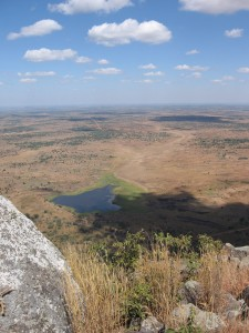 View from the top of Mount Kasungu