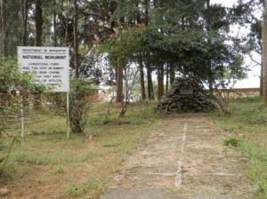 A monument to Livingstone's men