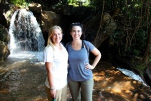 Linden and I at Livingstonia