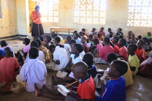 Advance work: visiting local schools