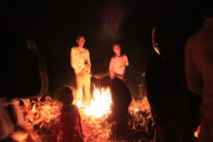 Dancing around the fire