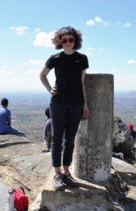 At the top of Mount Kasungu