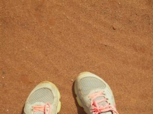 All that red dirt